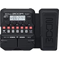 Zoom G1X Four Multi-effects Processor with Expression Pedal without adapter (Black)