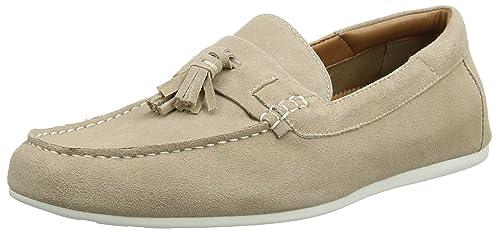 ALDO MALANDRE, Mocasines para Hombre, Blanco (36 Beige), 43 EU: Amazon.es: Zapatos y complementos