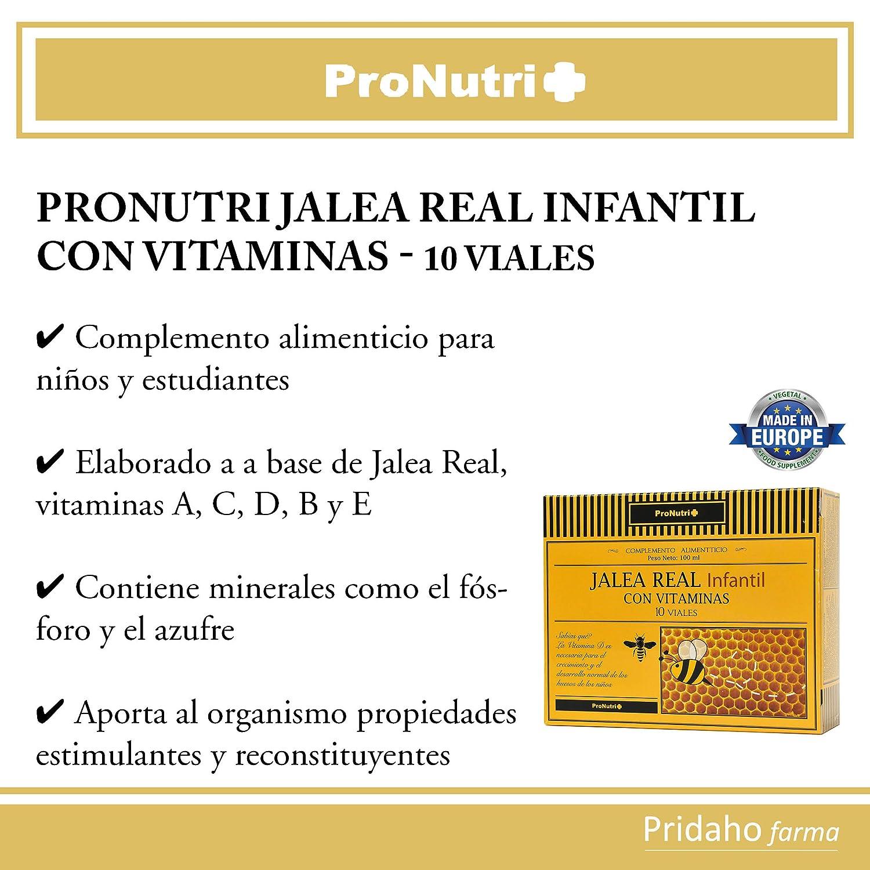 PRONUTRI - PRONUTRI Jalea Real Infantil con Vitaminas 10 viales ...