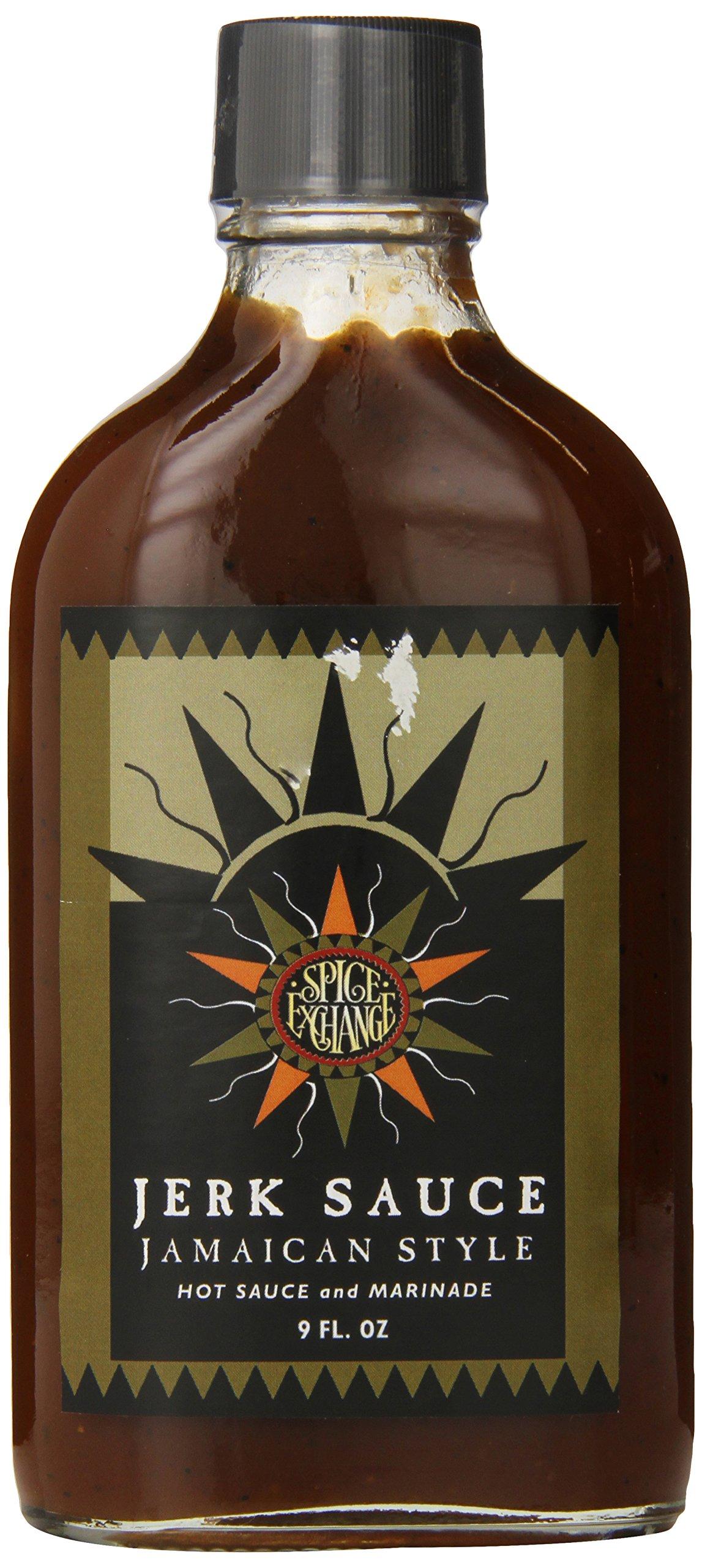 Spice Exchange Jamaican Jerk Sauce, 9 Ounce