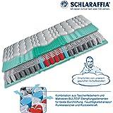 Schlaraffia Viva Plus Aqua Taschenfederkern Plus Matratze 90x200 cm H2