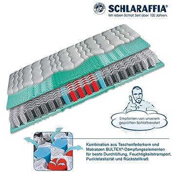 Schlaraffia Viva Plus Aqua Taschenfederkern Plus Matratze 90x200 H2