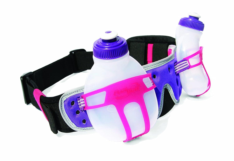 FuelBelt Ironman Collection R2O 2 Bottle Belt Pink//Purple One Size Fuel Belt 2723