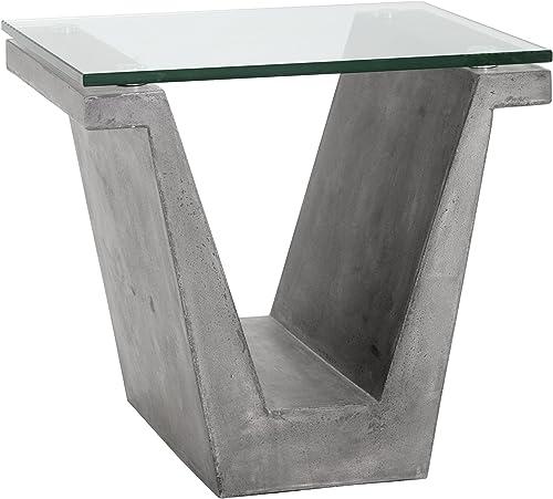 Sunpan MIXT End Tables, Grey