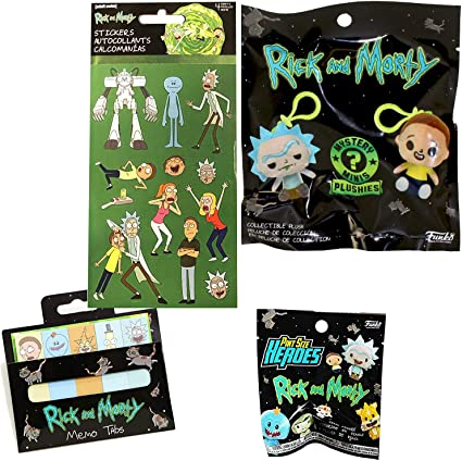 Adult Swim Mystery Mini New No Box Rick and Morty Angry Rick