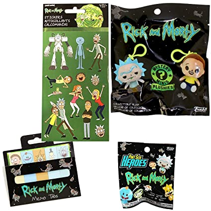 Amazon.com: Sofftee Rick & Morty Pint tamaño héroes ...