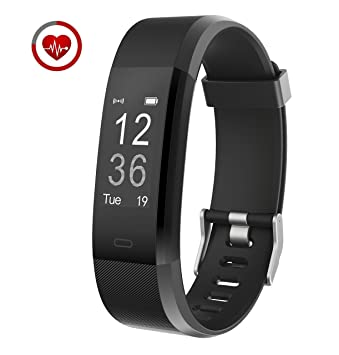 399186bbad2ce6 Vigorun Fitness Tracker YG3 Plus Activity Tracker Real-time Heart Rate  Monitoring Multi-Sport