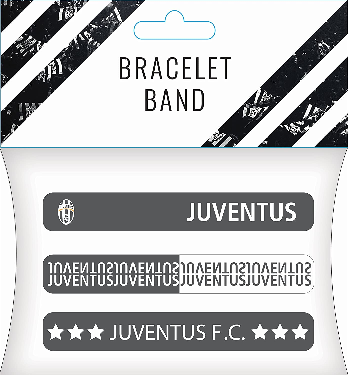 Juventus F C Juventus Bracelet Bands Set Of 3 Officially Licensed Ships From Usa Amazon Co Uk Sports Outdoors