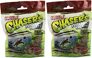 Zilla Reptile Food Turtle Chasers Treats, Shrimp Flavor, 4-Ounce