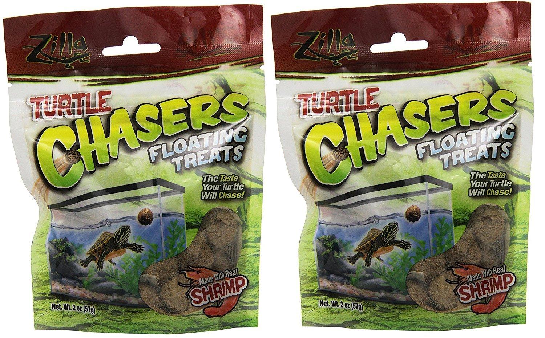 Zilla Turtle Chasers Aquatic Turtle Treats 13892
