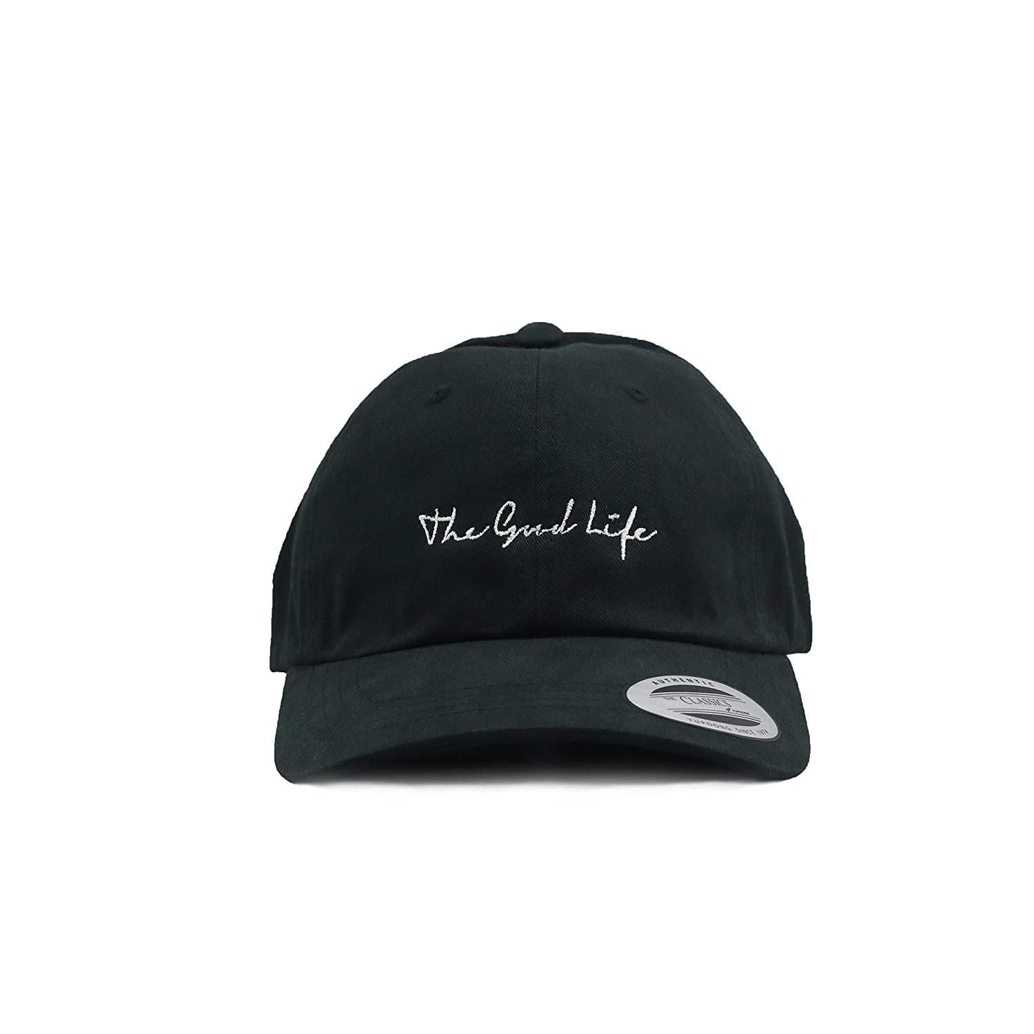 The Good Life Society Dad Hat Baseball Cap Polo Style Men Women Cotton  Adjustable (Unstructured) (Black) at Amazon Women s Clothing store  86c4f2410075