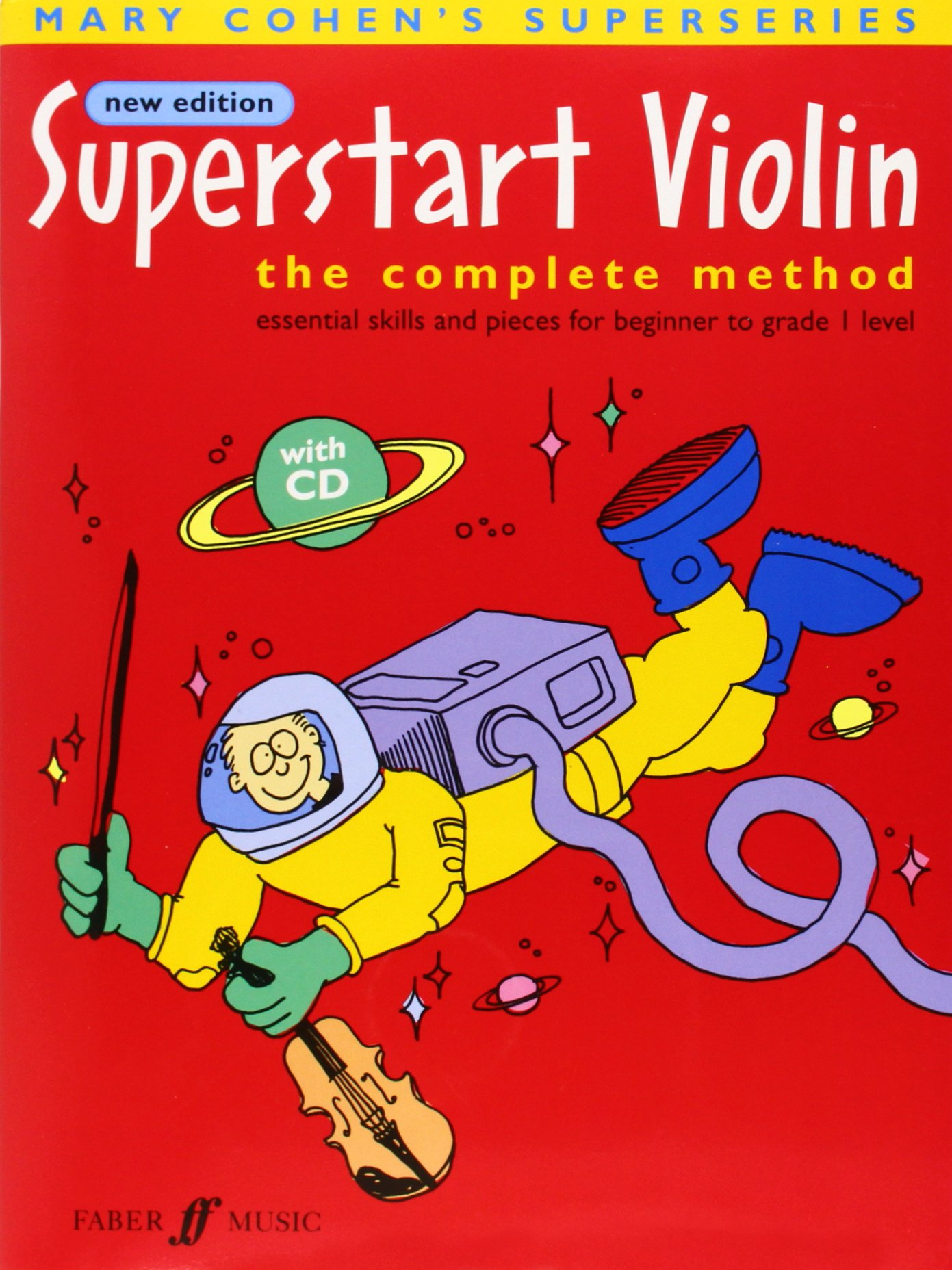 Download Superstart Violin: The Complete Method (Book & CD) (Faber Edition: Superstart) pdf epub