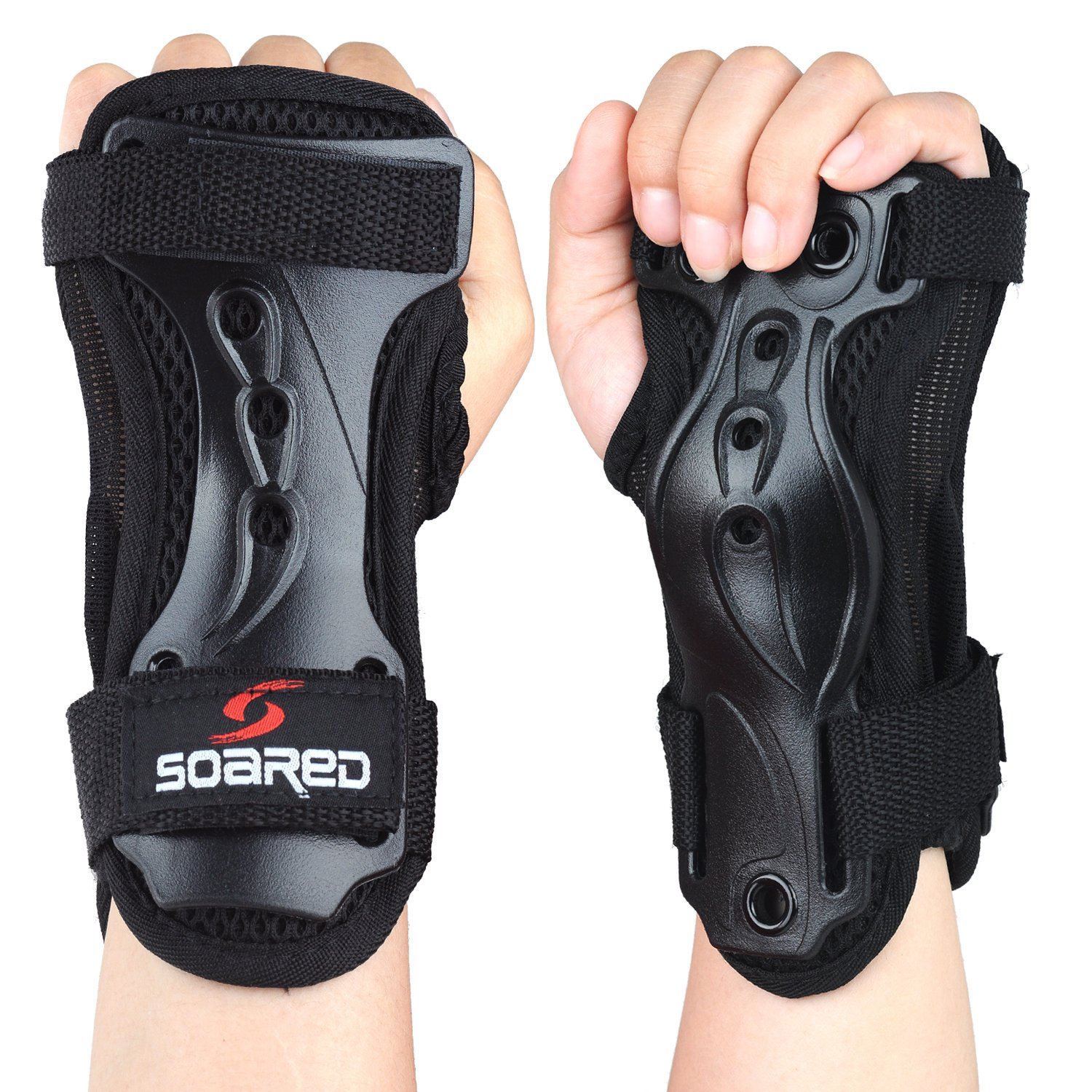 Soared Wrist Guards Protective Gear Hand Pads for Snowboard Skiing Skateboard Roller Skating Scooter Kids Women Men