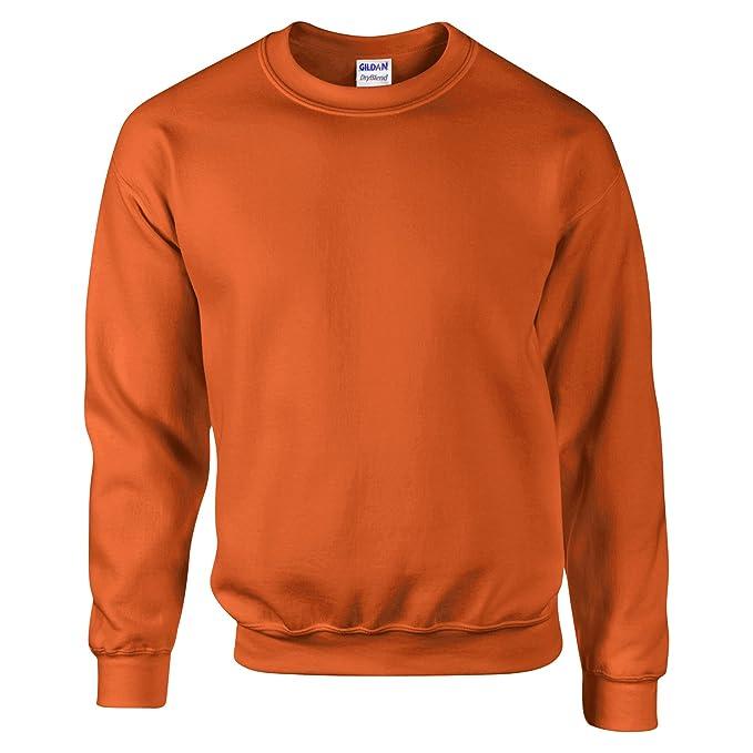 a14366b4ad Gildan - Felpa Girocollo Tinta Unita - Uomo: Amazon.it: Abbigliamento