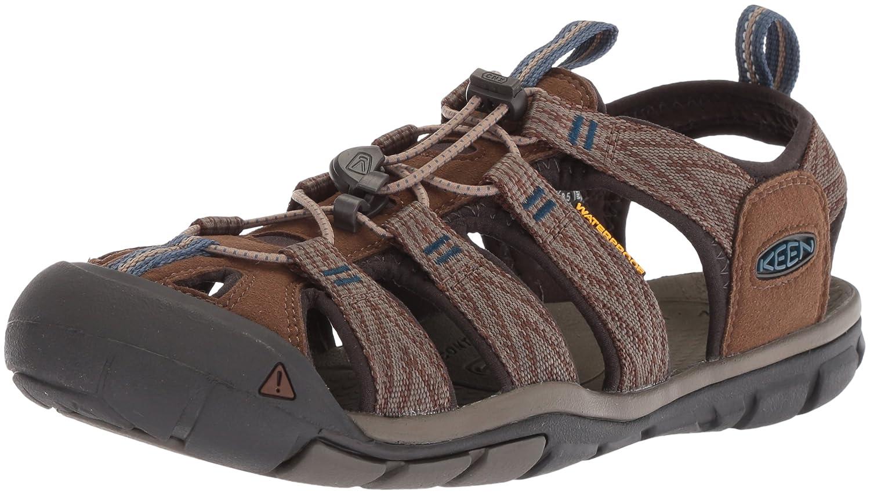 Keen Clearwater CNX, Sandalias de Senderismo para Hombre, Marrón (Dark Earth/Blue Opal 0), 39.5 EU: Amazon.es: Zapatos y complementos