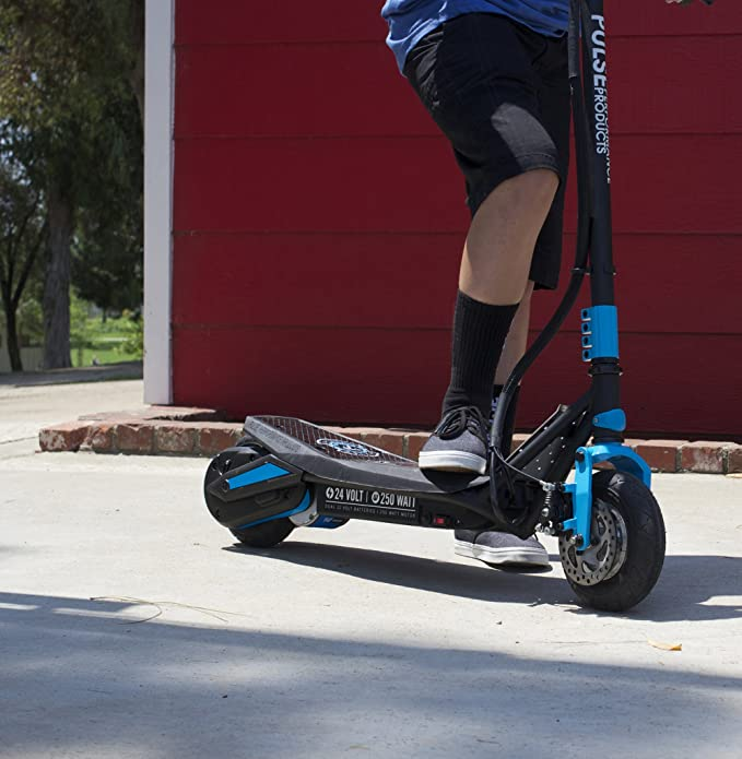 Pulse Performance Super C Electric Scooter, Cyan