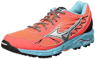 0c891ca0987 Mizuno Wave Daichi - Chaussures de Running Compétition - Femme - Orange  (Fiery Coral