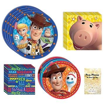 Amazon.com: Toy Story 4 suministros para fiestas, Woody ...