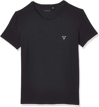 Guess - Camiseta básica de cuello redondo para hombre, 2 ...