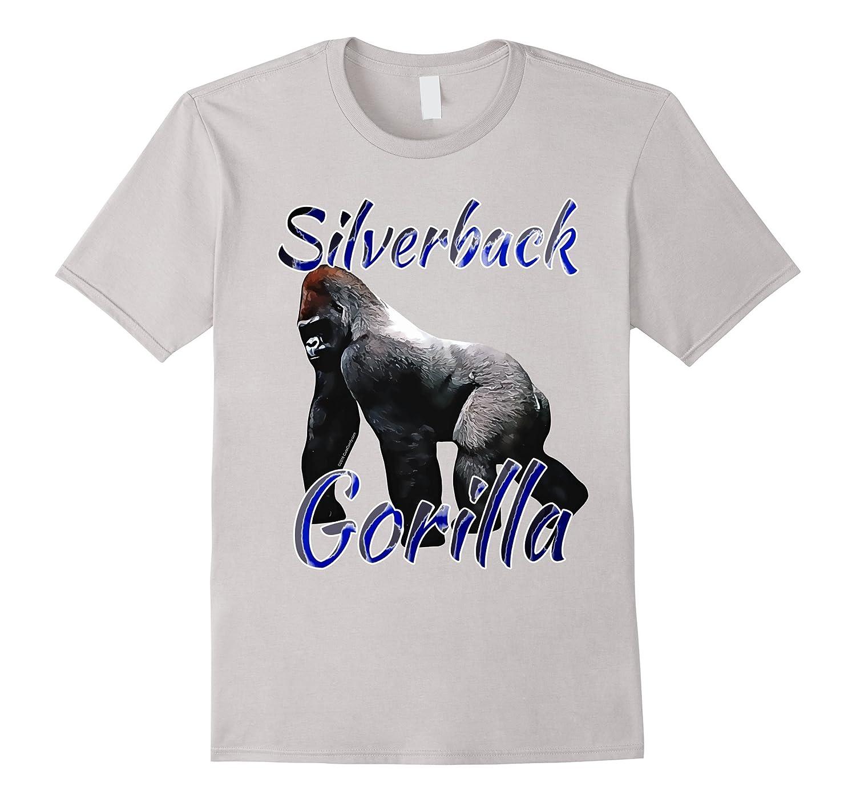 Silverback Gorilla Zoo Animal Boys/Kids/Unisex T-Shirt-Loveshirt