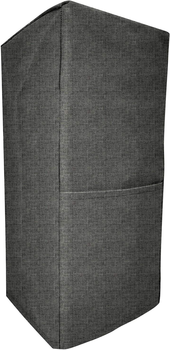 Kitchen Blender Covers, Quilted Polyester Cover Blender, Dust-proof Organizer Blender Cover Kitchen Mixer Protector Anti Fingerprint Mixer Covers, Year Around Protection (Dark Grey, 8.5x8x18inch)