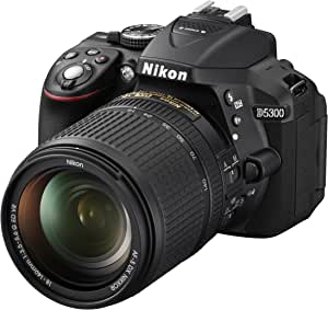 Nikon ND5300 - Cámara réflex digital de 24.2 Mp (con objetivo 18 ...