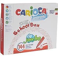 Carioca Jumbo Süper Yıkanabilir Keçeli Boya Kalemi 144'lü
