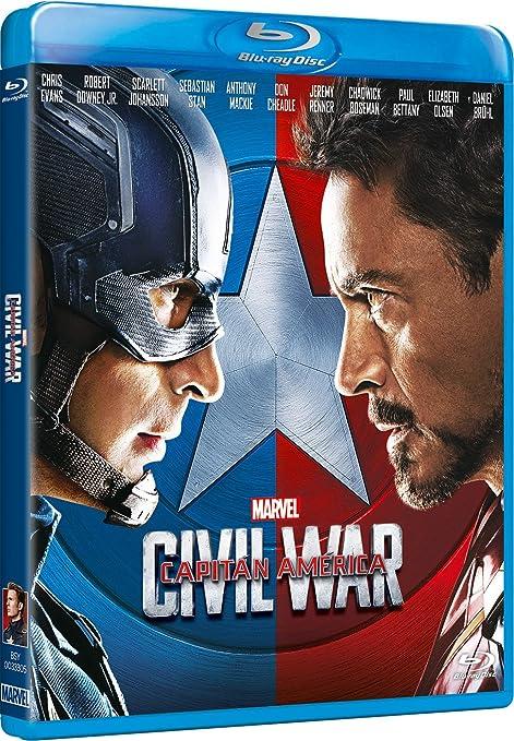 Capitán América: Civil War [Blu-ray]: Amazon.es: Chris Evans ...