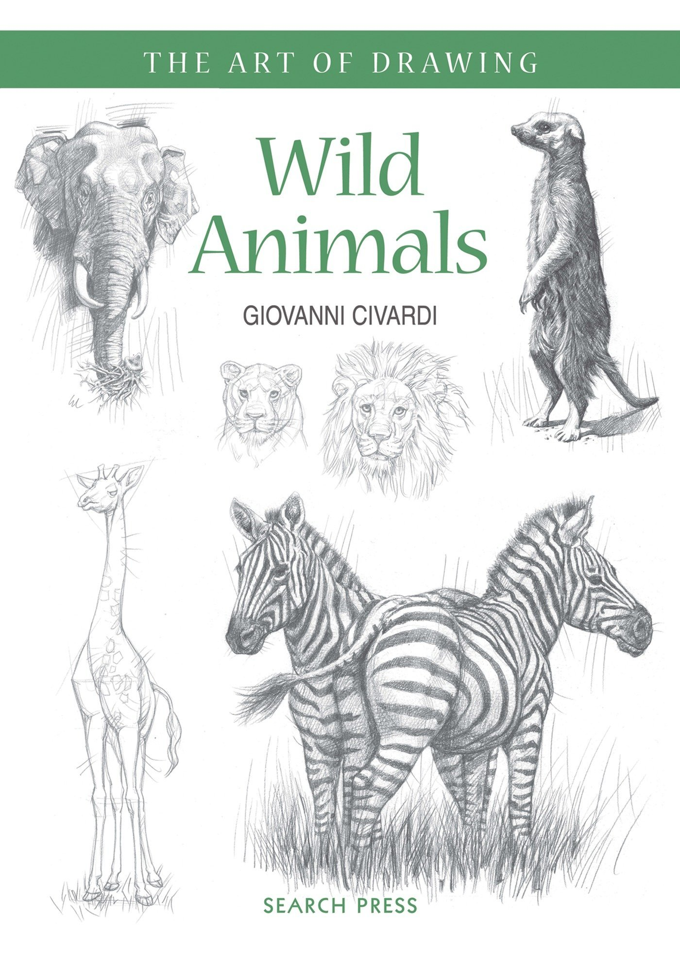 Art of drawing wild animals how to draw elephants tigers lions and other animals paperback april 18 2016
