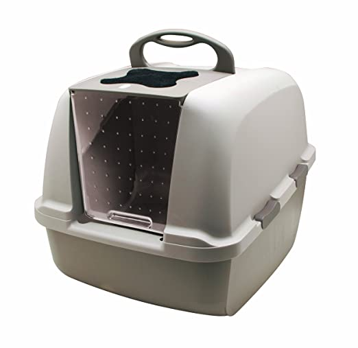 best hooded or covered cat litter box