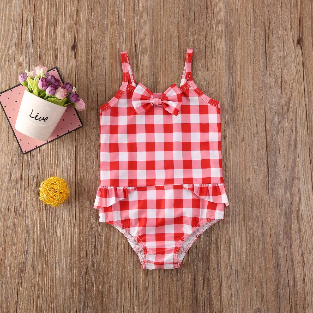 LXXIASHI Toddler Kids Baby Girl Sunflower One Piece Swimsuits Quick Dry Beach Swimwear Bathing Suit for Beach