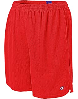 50dc5f9ec630 Champion Long Mesh Men s Shorts with Pockets at Amazon Men s ...