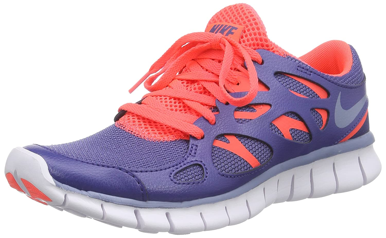 watch f112b 81119 Nike Women s s Free Run 2 Ext Shoes, Blau Legend Clear Blue-Hot Lava-White,  3  Amazon.co.uk  Shoes   Bags
