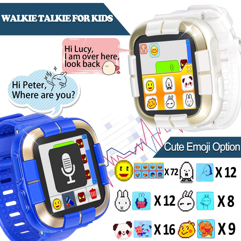 9962fb2cf Amazon.com  GBD 2019 New Kids Games Smart Watch Fitness Tracker  Walkie  Talkie Pro   for Boys Girls Holiday Birthday Gift Kids Digital Wrist Watch  with ...