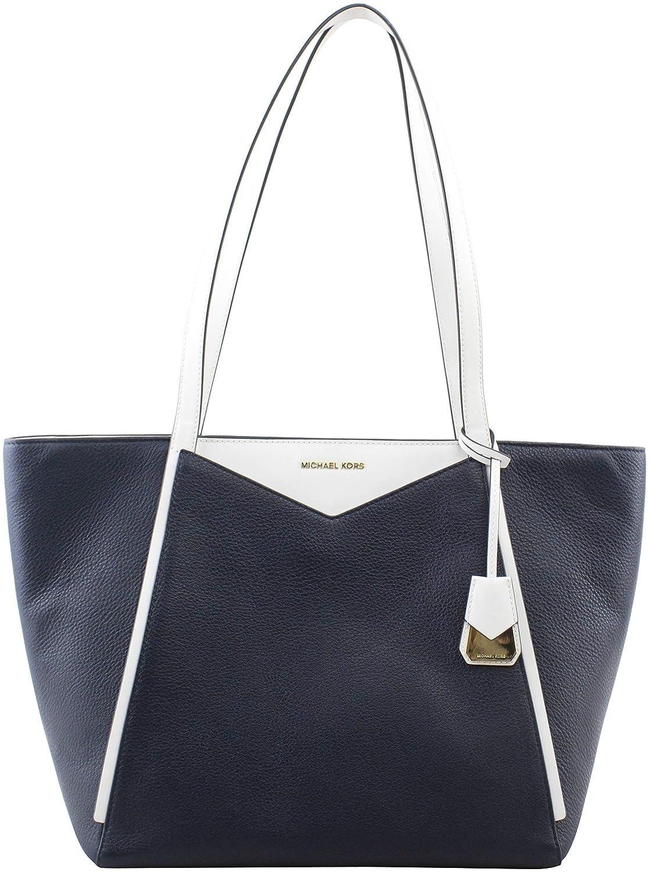 dfbb20439f5d11 Amazon.com: Michael Kors Whitney Ladies Large Leather Tote Handbag  30S8GN1T3L423: Shoes