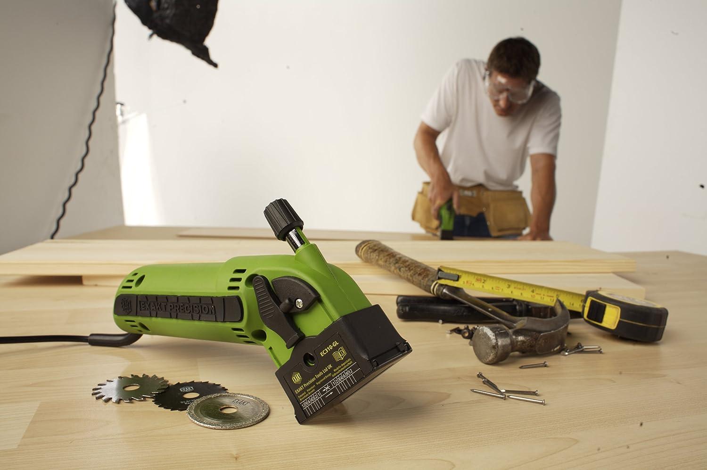 Jml Exakt Saw Ec310 N 3 Blade Version Uk Warranty Cutting Blades Dust Hose Co Diy Tools