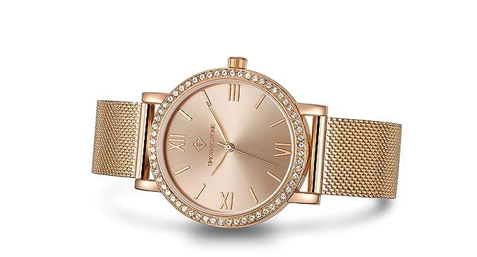 Timothy Stone collection INDIO - reloj mujer de cuartzo, color Oro Rosa: Amazon.es: Relojes