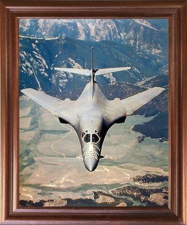 Amazon.com: Aviation Framed Poster - Rockwell B-1 Lancer Bomber Jet ...