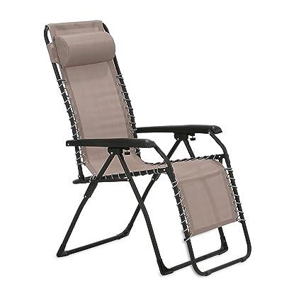 maxVitalis Gartenstuhl mit verstellbare Rückenlehne und Fußteil, Mit  Armlehnen, Sonnen-Liegestuhl klappbar u. leicht, Gartenliege, Sonnenliege,  ...