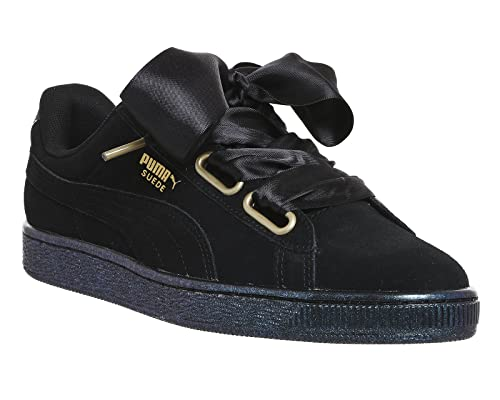 Satin Basses Puma Heart IiSneakers Suede Femme CeWoBEQrxd