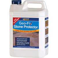 Everbuild EVBGEOSTONE1 Geo-Fix Natural Stone Protector 1 Litre, Clear, 1Ltr