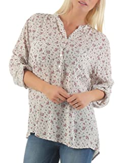 Damen 2-lagige Ärmellose Bluse Shirt Top Loose Fit Baumwolle Viskose One Size