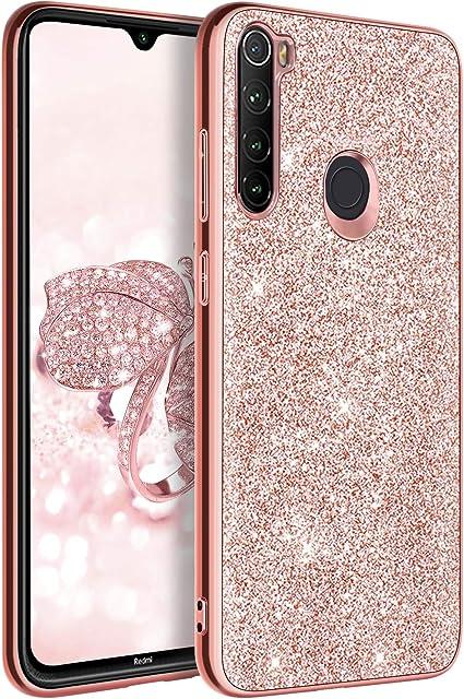 BENTOBEN Funda Redmi Note 8, Carcasa Xiaomi Redmi Note 8 Purpurina ...