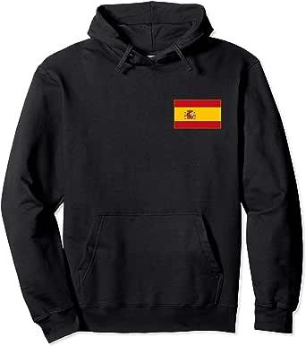 Bandera de España Spain Flag Banderas Españolas Hombre Mujer Sudadera con Capucha: Amazon.es: Ropa y accesorios