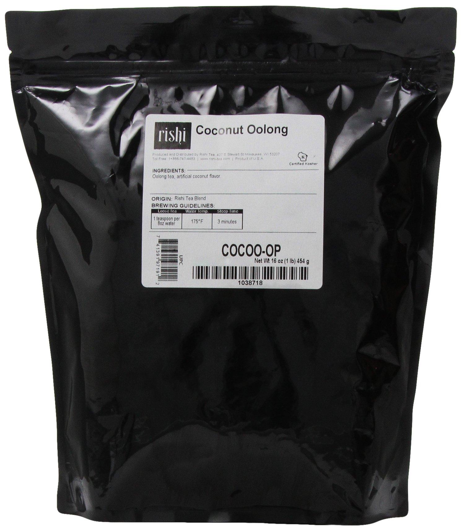 Rishi Tea, Coconut Oolong, 1-Pound
