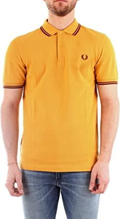Fred Perry Light and Stretch Custom FIT Polo para Hombre: Amazon ...