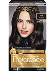 L'Oreal Paris Superior Preference Permanent Hair Colour 40 Deep Brown, 1 EA