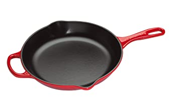 Le Creuset LS2024-2667 colorful cast iron skillet