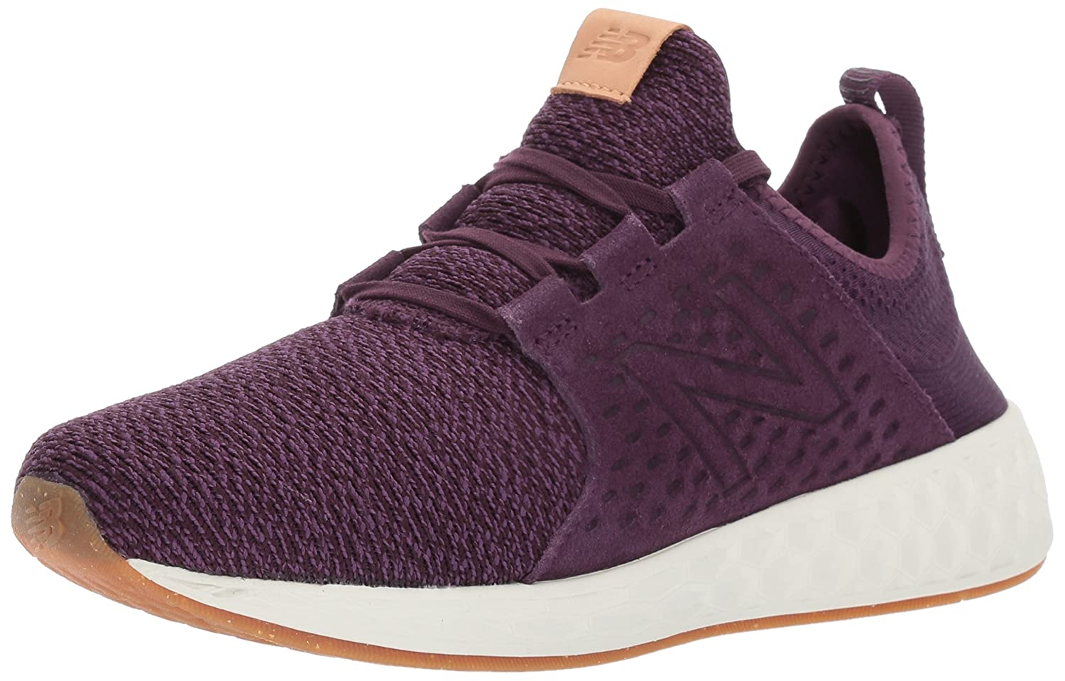 New Balance Women's Fresh Foam Cruz V1 Running Shoe B01M0OO8IE 8.5 B(M) US|Aubergine/Sea Salt