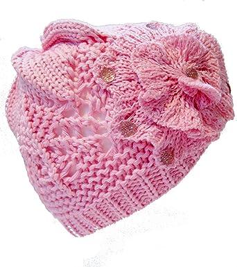 Crochet Spring Flower Beanie